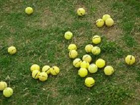 golf advice save money by using practice balls