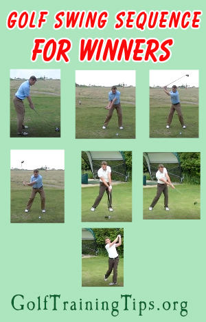 Golf Swing Sequence Step By Step • Golf Ttraining Tips